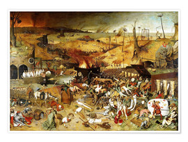Premium poster  The Triumph of Death - Pieter Brueghel d.Ä.