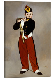 Canvas print  The Fifer - Edouard Manet