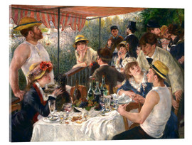 Acrylic print  Luncheon of the boating party - Pierre-Auguste Renoir
