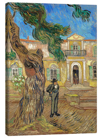 Canvas print  Hospital St. Paul at Saint-Rémy-de-Provence - Vincent van Gogh