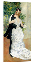 Acrylic print  Dance in the city - Pierre-Auguste Renoir