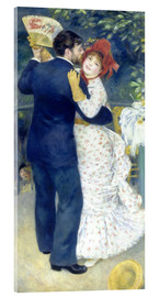 Acrylic print  Dance in the country - Pierre-Auguste Renoir