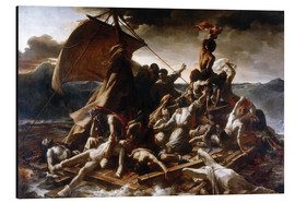 Aluminium print  Raft of the Medusa - Theodore Gericault