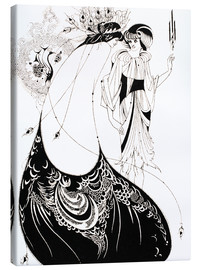 Canvas print  Oscar Wilde's 'Salome' - Aubrey Vincent Beardsley