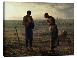 Canvas print  The Angelus - Jean-François Millet