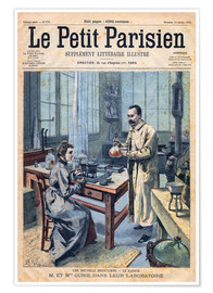 Premium poster  Pierre and Marie Curie