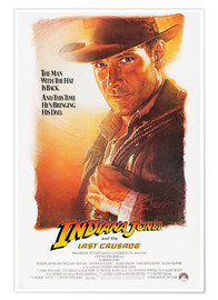 Premium poster Indiana Jones and the last Crusade