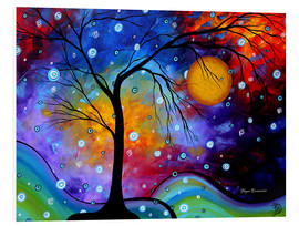 Foam board print  Winter Sparkle Alien Snap - Megan Duncanson