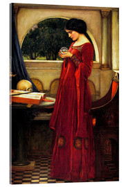 Acrylic print  The crystal ball - John William Waterhouse