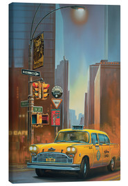 Canvas print  Yellow Cab - Georg Huber