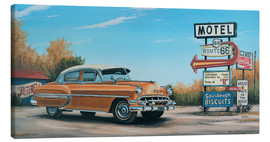 Canvas  Motel Route 66 - Georg Huber