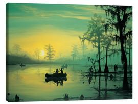 Canvas print  Mississippi Sunrise - Georg Huber