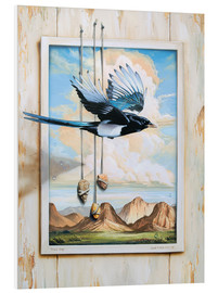 Foam board print  FREE BIRD - Georg Huber