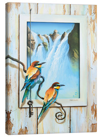 Canvas print  BIRDS OF IMAGINATION - Georg Huber