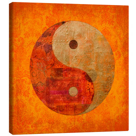 Canvas  yin and yang - Andrea Haase