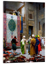 Acrylic print  Carpet dealer - Jean Leon Gerome