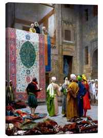 Canvas  The Carpet Merchant - Jean Leon Gerome