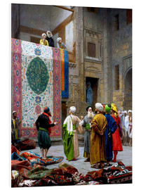 Foam board print  Carpet dealer - Jean Leon Gerome