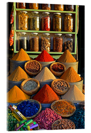 Acrylic print  Spices from Morocco - HADYPHOTO