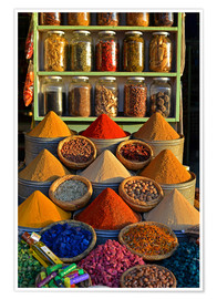 Premium poster  Spices from Morocco - HADYPHOTO by Hady Khandani