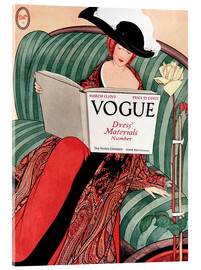 Acrylic print  Vintage Vogue - Advertising Collection