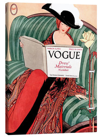 Canvas print  Vintage Vogue - Advertising Collection