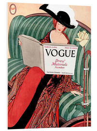 Foam board print  Vintage Vogue - Advertising Collection