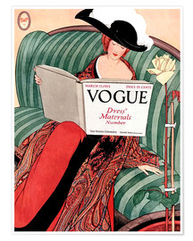 Premium poster  Vintage Vogue - Advertising Collection
