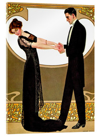 Acrylic print  The rendezvous - Clarence Coles Phillips