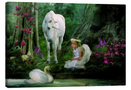 Canvas print  Angel Wishes - Selina Morgan