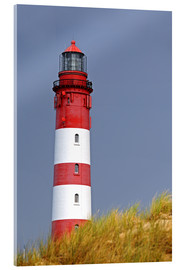 Acrylic glass  red Lighthouse - Sarnade