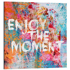 Aluminium print  Enjoy the moment II - Andrea Haase