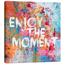 Canvas  Enjoy the moment II - Andrea Haase
