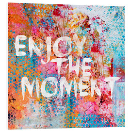 Foam board print  Enjoy the moment II - Andrea Haase