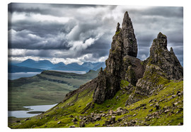 Canvas print  Old Man of Storr, Isle of Skye, Scotland - Walter Quirtmair