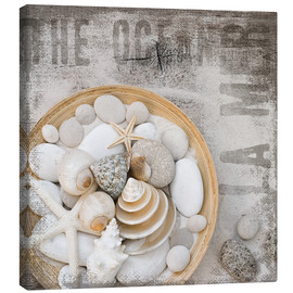 Canvas print  Beach Treasures - Andrea Haase