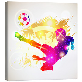 Canvas print  Soccer player - TAlex