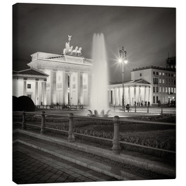Canvas  Berlin - Brandenburg Gate (Analogue Photography) - Alexander Voss
