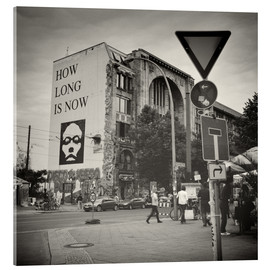 Acrylic print  Berlin - Oranienburger Strasse (Analogue Photography) - Alexander Voss
