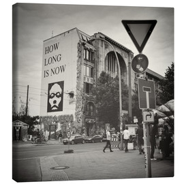Canvas  Berlin - Oranienburger Strasse (Analogue Photography) - Alexander Voss