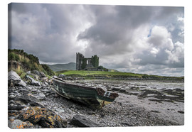 Canvas  Ballycarbery Castle, County Kerry, Ireland - Christian Müringer