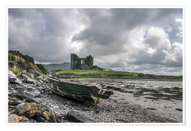 Premium poster  Ballycarbery Castle, County Kerry, Ireland - Christian Müringer
