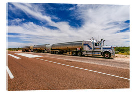 Acrylic print  Road Train Australia - Thomas Hagenau