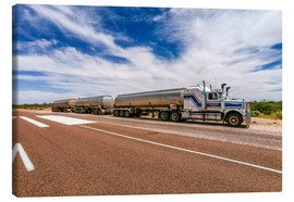 Canvas print  Road Train Australia - Thomas Hagenau