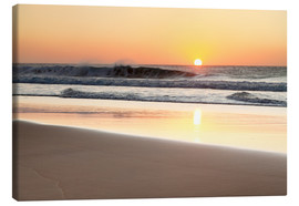 Canvas print  Beach at sunset, Fuerteventura - Markus Lange