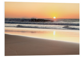 Foam board print  Beach at sunset, Fuerteventura - Markus Lange