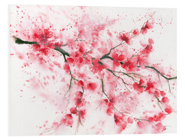 Foam board print  Flowering Twig - Jitka Krause