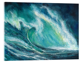 Acrylic glass  The power of the sea - Jitka Krause