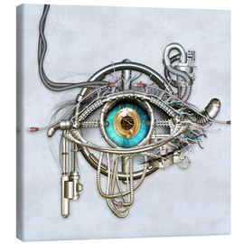 Canvas  Mechanical eye - diuno