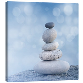 Canvas  Stone cairn VI - Andrea Haase Foto
